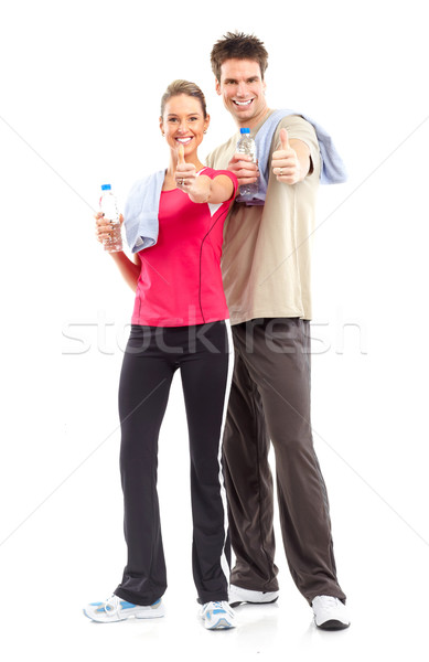 Fitness Stock photo © Kurhan