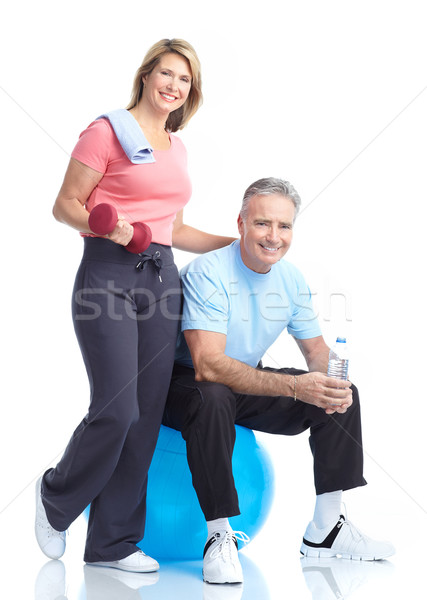 Stock photo: Gym & Fitness