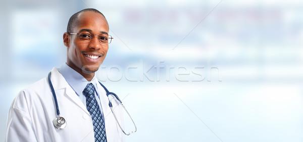 Medical doctor man. Stock photo © Kurhan