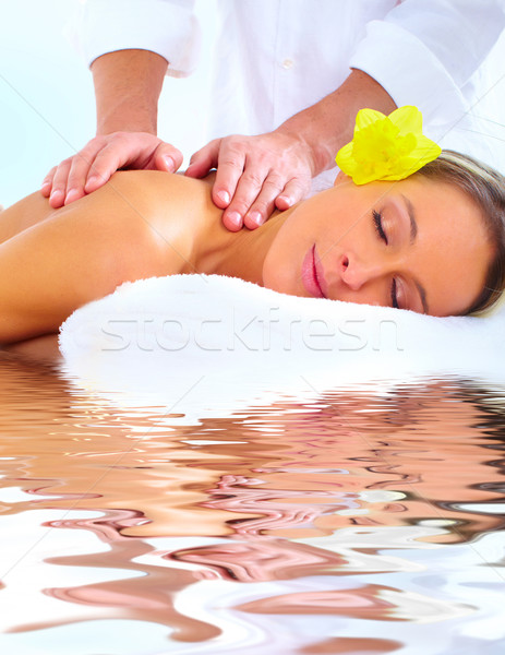 Stock photo: spa massage