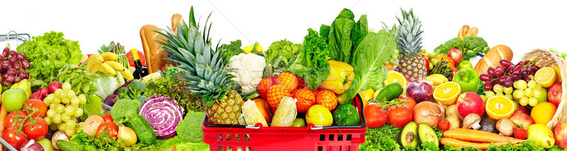 Fresh food background Stock photo © Kurhan