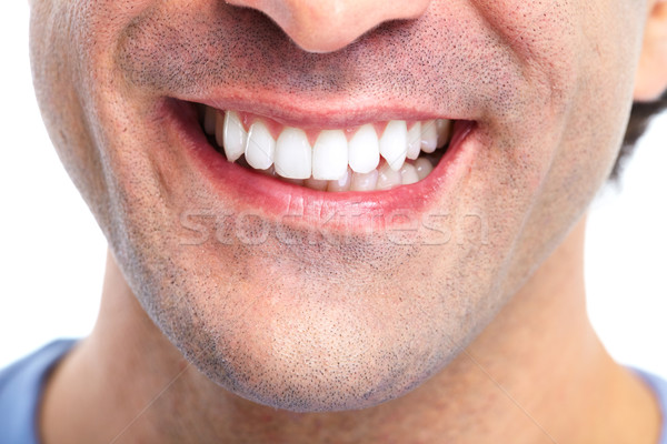 Stock photo: Teeth.