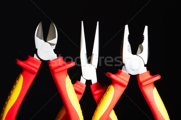 Electrician pliers. Stock photo © Kurhan