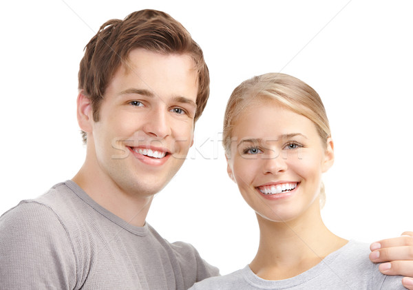 Young couple in love Stock photo © Kurhan