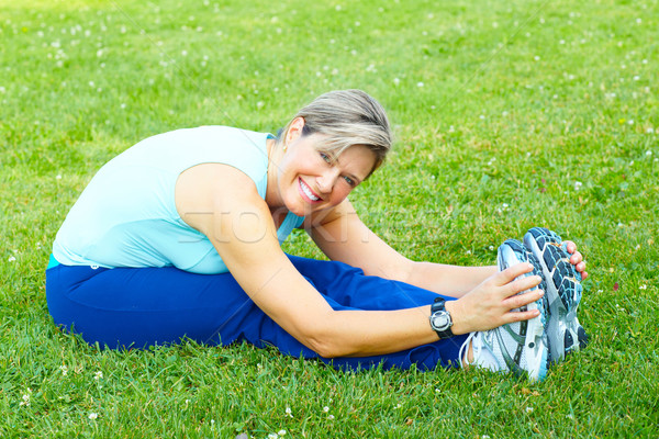 Fitness, healthy lifestyle. Stock photo © Kurhan