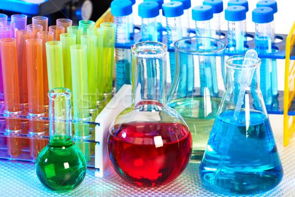 Científico laboratório saúde educação estudar lab Foto stock © Kurhan