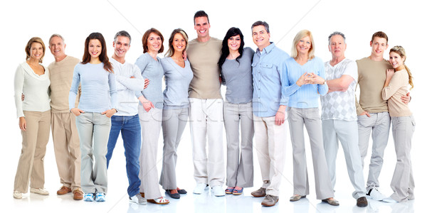 Group of people. Stock photo © Kurhan