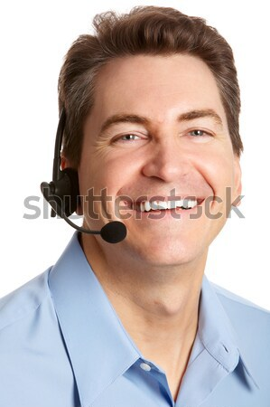 customer service Stock photo © Kurhan