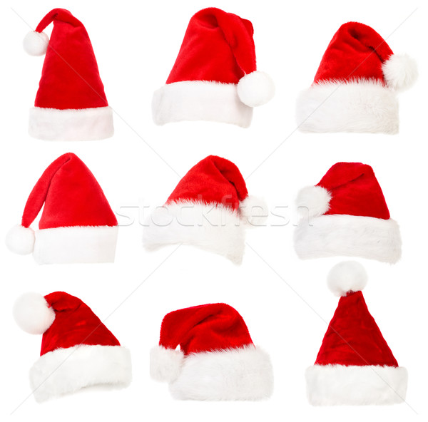 Santa hats Stock photo © Kurhan