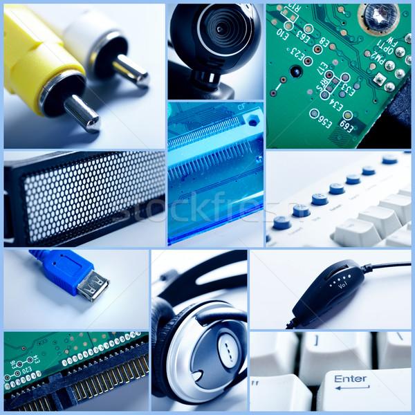 Technology collage. Stock photo © Kurhan