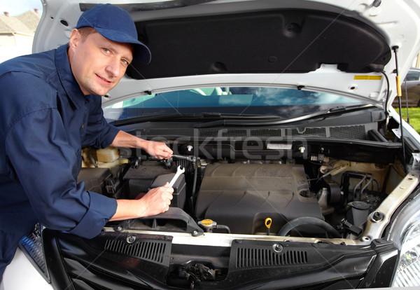Foto d'archivio: Professionali · meccanico · auto · auto · meccanico · lavoro · auto