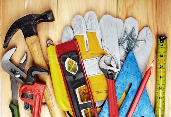 Construction tools. Stock photo © Kurhan