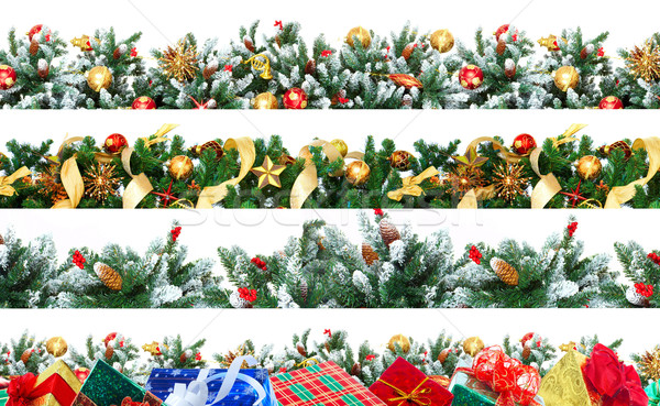 Christmas Tree Decoration Stock photo © Kurhan