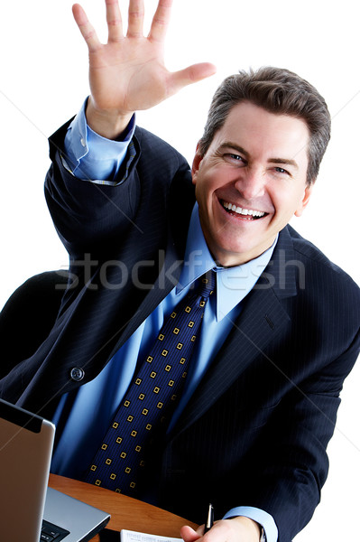 Friendly businessman Stock photo © Kurhan