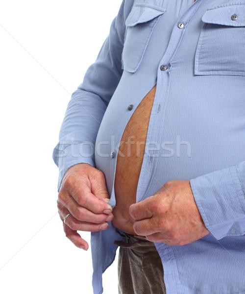 Big fat belly. Stock photo © Kurhan