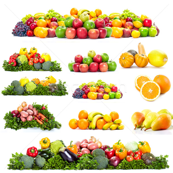 Fresh fruits. Stock photo © Kurhan