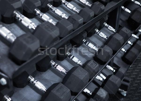 dumbbells Stock photo © Kurhan