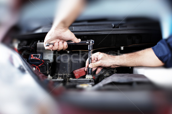 Auto repair. Stock photo © Kurhan