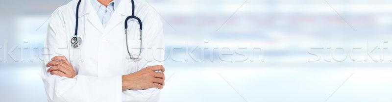 Doctor hands. Stock photo © Kurhan