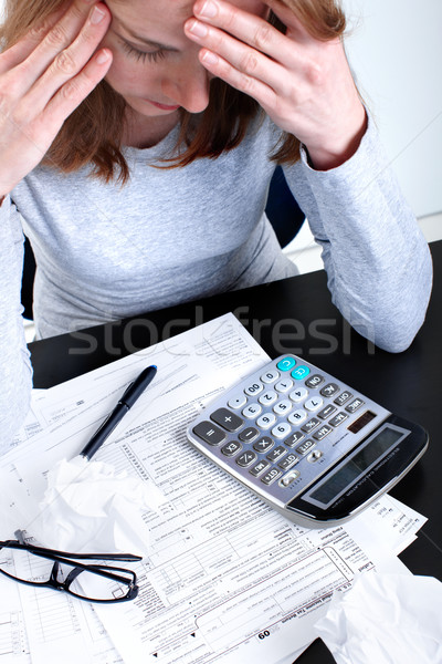 Tax Form  Stock photo © Kurhan