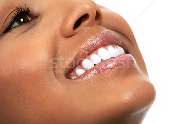 Woman Smile. Stock photo © Kurhan