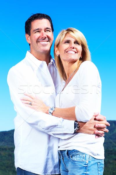 Happy couple. Stock photo © Kurhan