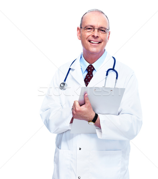Doctor physician. Stock photo © Kurhan