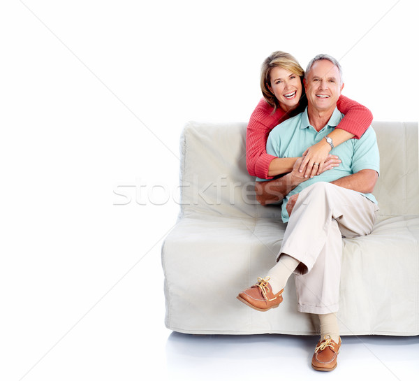Senior couple portrait. Stock photo © Kurhan