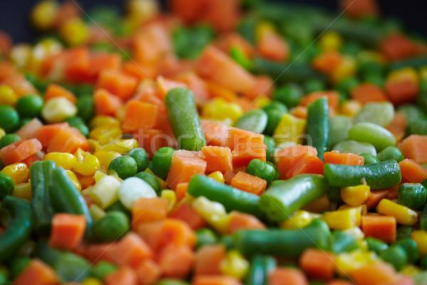 Vegetables mix. Stock photo © Kurhan