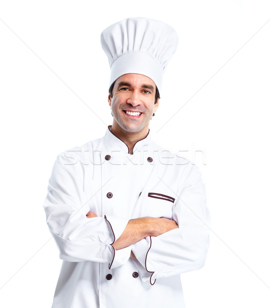Professional chef man. Stock photo © Kurhan