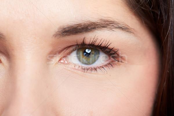 Woman eye. Stock photo © Kurhan