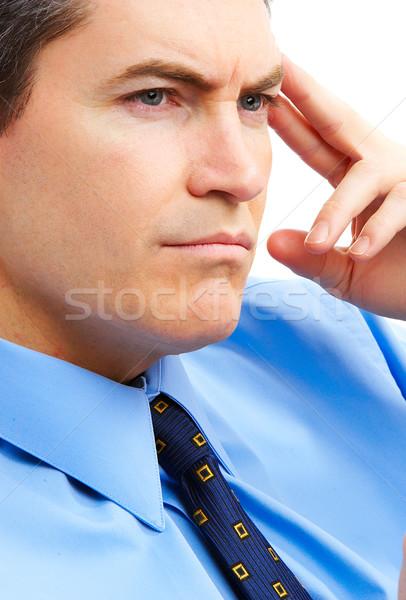 Serious businessman Stock photo © Kurhan