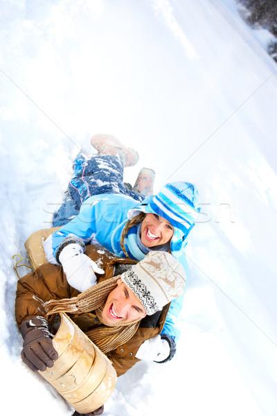 winter Stock photo © Kurhan