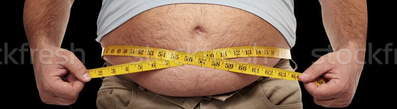 Obesity Stock photo © Kurhan