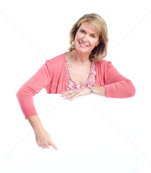 Senior woman. Stock photo © Kurhan