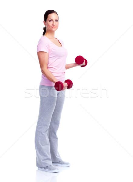 Gym, Fitness, healthy lifestyle. Stock photo © Kurhan