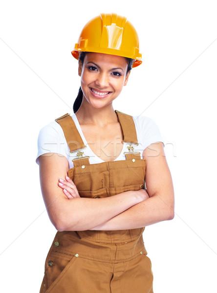Worker woman. Stock photo © Kurhan