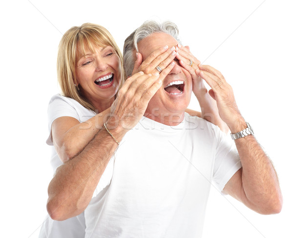 ストックフォト: カップル · 幸せ · 愛 · 健康 · 歯