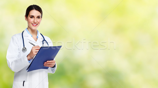 Doctor woman. Stock photo © Kurhan
