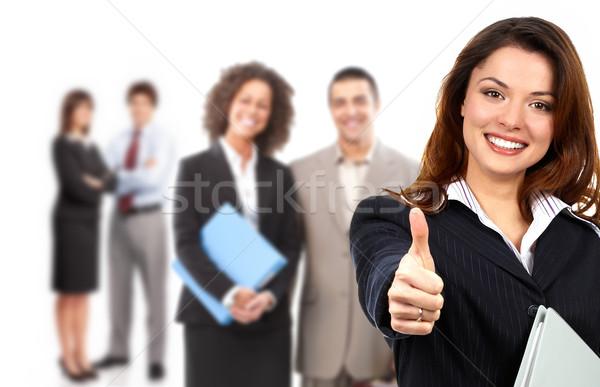 Gente de negocios mujer de negocios grupo jóvenes sonriendo negocios Foto stock © Kurhan