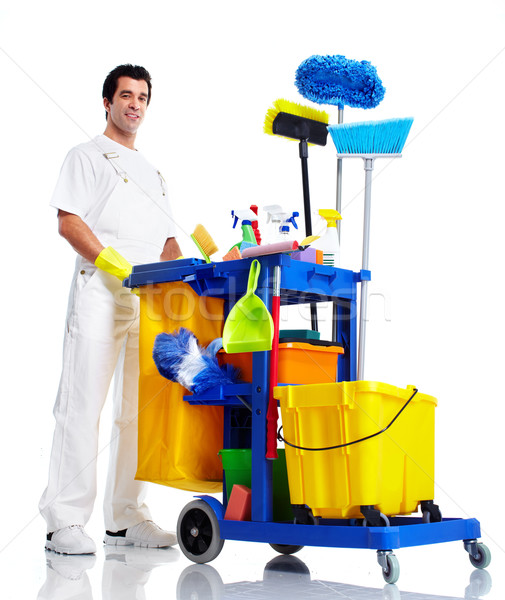 Cleaner. Stock photo © Kurhan