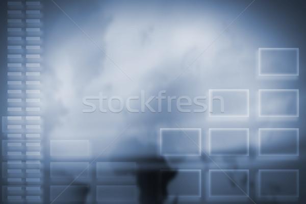 Technology background. Stock photo © Kurhan