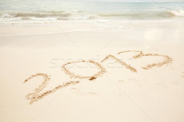 Miami praia natureza mar verão areia Foto stock © Kurhan