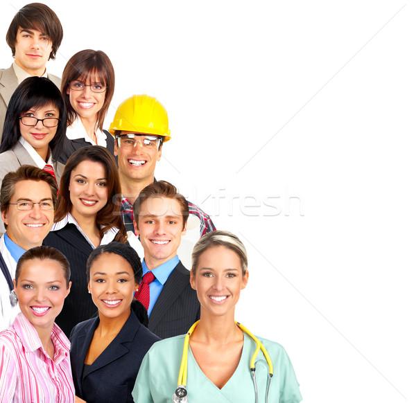 Trabajadores empresario negocios mujeres constructor enfermera Foto stock © Kurhan