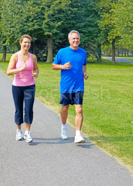 jogging  Stock photo © Kurhan