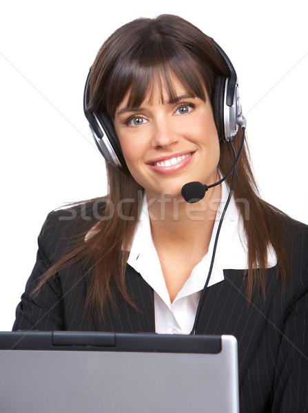 Call Center Operator. Stock photo © Kurhan