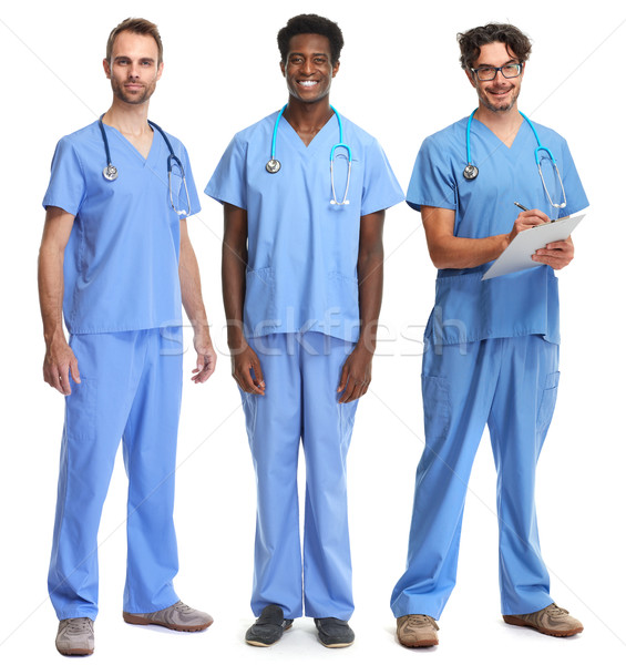 Doctors group. Stock photo © Kurhan