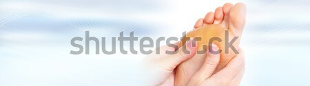 Feet massage Stock photo © Kurhan