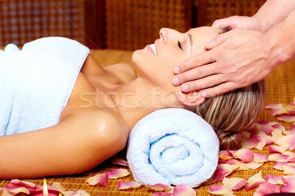 Spa massaggio bella salute donna Foto d'archivio © Kurhan