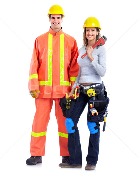 Contractors people. Stock photo © Kurhan